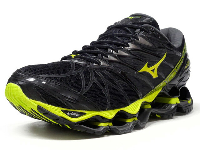 "MIZUNO WAVE PROPHECY 7 ""LIMITED EDITION""  BLK/GRY/N.YEL (J1GC180040)"