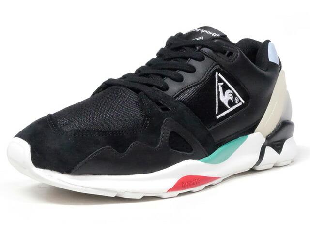 "le coq sportif LCS R 921 ""mita sneakers Direction""  BLK/WHT/RED (QL1MJC50BK)"
