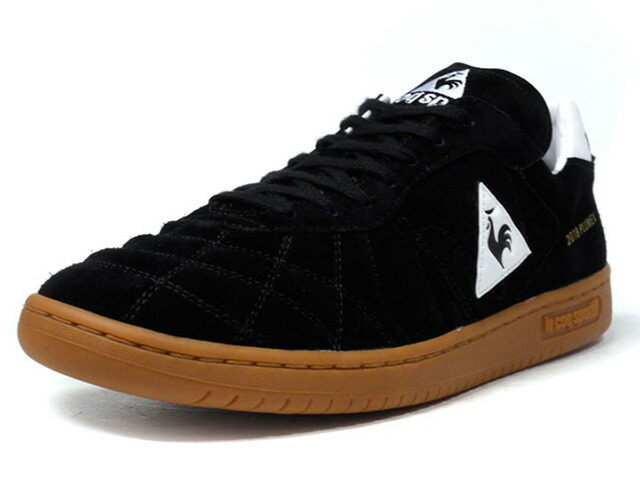 "le coq sportif PLUME X ""LIMITED EDITION for BETTER +""  BLK/WHT/GUM (QL1MJC51BK)"