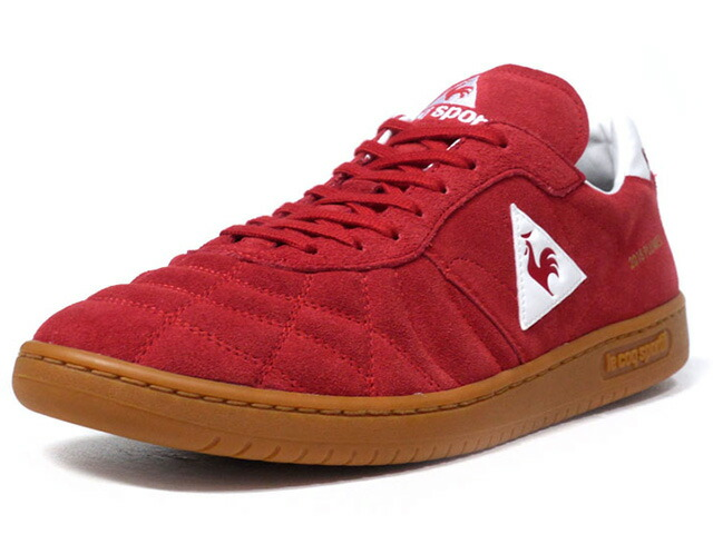 "le coq sportif PLUME X ""LIMITED EDITION for BETTER +""  RED/WHT/GUM (QL1MJC51RD)"