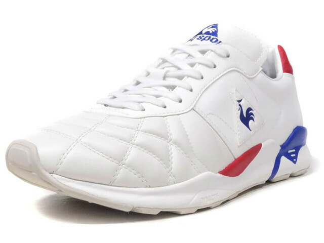 """le coq sportif PLUME X RUN """"LIMITED EDITION for BETTER +""""  WHT/BLU/RED (QL2MJC50WT)"""