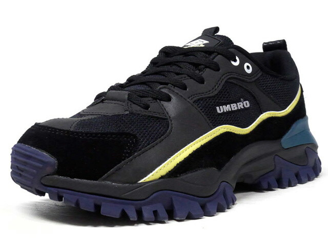 "umbro BUMPY ""LIMITED EDITION""  BLK/WHT/YEL/M.GRN/NVY (UY1MKC01BK)"