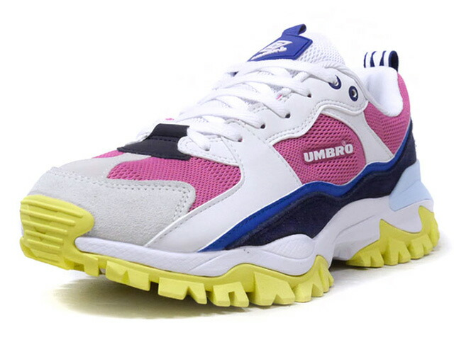 "umbro BUMPY ""LIMITED EDITION""  WHT/PNK/BLU/NVY/SAX/YEL (UY1MKC01WP)"