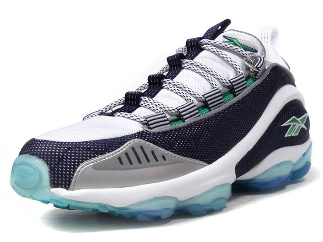 "Reebok DMX RUN 10 OG ""HERITAGE COLORS"" ""LIMITED EDITION""  NVY/WHT/GRN/CLEAR (V44402)"