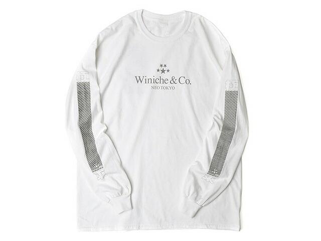 "GOODS NEOTOKYO HYBISIBILITY L/S TEE ""Winiche & Co. x mita sneakers""  WHT (WMT01)"