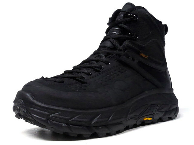 "HOKA ONE ONE TOR ULTRA HI 2 WP ""LIMITED EDITION""  BLK/BLK (1107293BLK)"