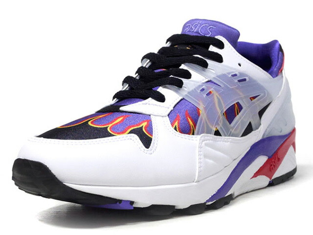 "ASICSTIGER GEL-KAYANO TRAINER ""ANARCHY IN THE EDO PERIOD"" ""sneakerwolf""  WHT/BLK/PPL/RED/YEL (1193A164.100)"
