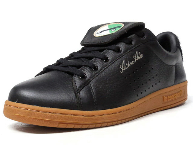 "le coq sportif ARTHUR ASHE PANTHERE ""LA PANTHERE NOIRE ASSE PACK"" ""LIMITED EDITION for SELECT""  BLK/GUM (1820406)"