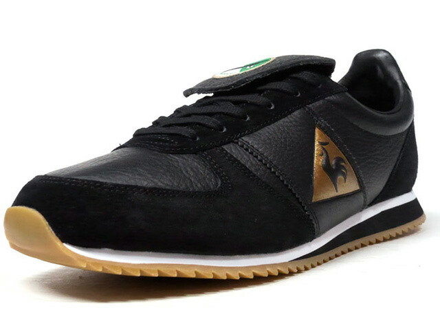 "le coq sportif TURBOSTYLE PANTHERE ""LA PANTHERE NOIRE ASSE PACK"" ""LIMITED EDITION for SELECT""  BLK/GLD/WHT/GUM (1820407)"