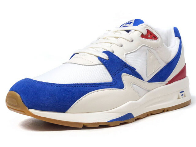 "le coq sportif LCS R 800 BBR ""made in FRANCE"" ""BBR PACK"" ""LIMITED EDITION for SELECT""  WHT/BLU/RED/GUM (1820712)"