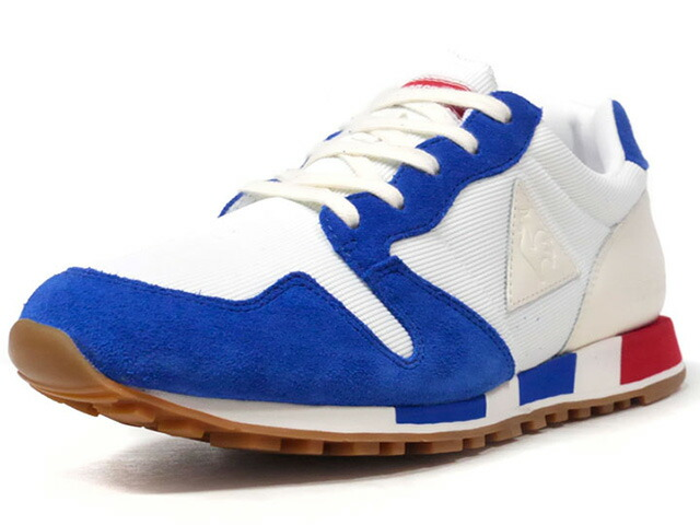 "le coq sportif OMEGA BBR ""made in FRANCE"" ""BBR PACK"" ""LIMITED EDITION for SELECT""  WHT/BLU/RED/GUM (1820713)"