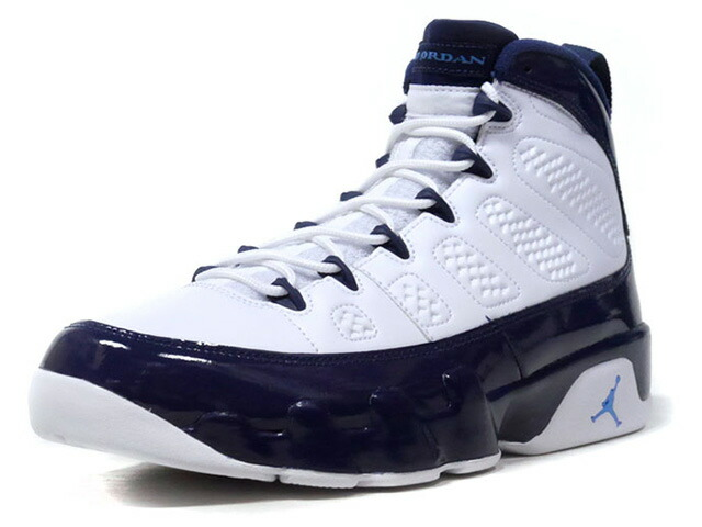 "JORDAN BRAND  AIR JORDAN 9 RETRO ""MICHAEL JORDAN"" ""LIMITED EDITION for JORDAN BRAND""  WHT/NVY/SAX (302370-145)"