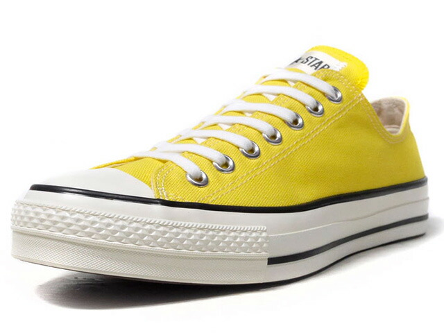 "CONVERSE CANVAS ALL STAR J OX ""made in JAPAN"" ""LIMITED EDITION""  YEL/BLK/O.WHT (32169373)"