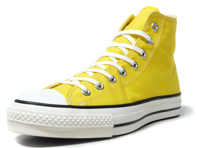 "CONVERSE CANVAS ALL STAR J HI ""made in JAPAN"" ""LIMITED EDITION""  YEL/BLK/O.WHT (32965133)"