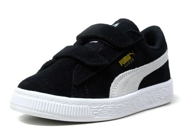 "Puma SUEDE 2 STRAPS PS ""LIMITED EDITION for PRIME""  BLK/WHT (359595-01)"