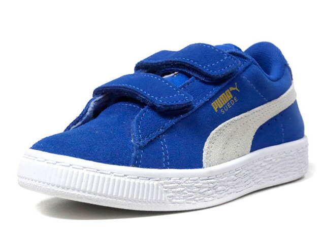 "Puma SUEDE 2 STRAPS PS ""LIMITED EDITION for PRIME""  BLU/WHT (359595-02)"