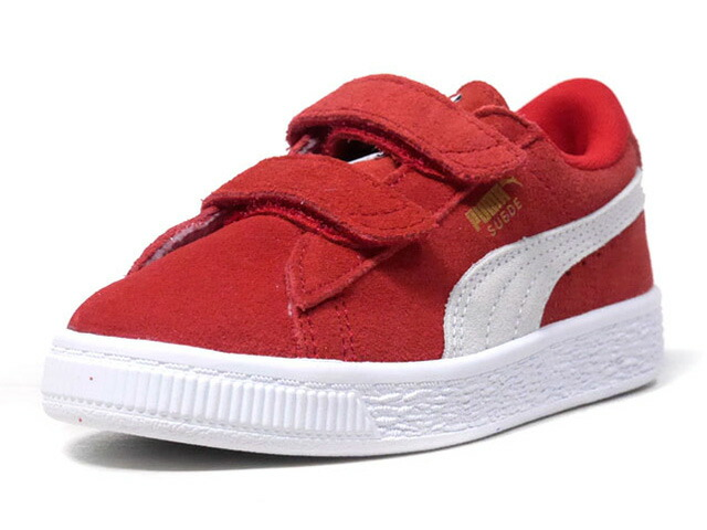 "Puma SUEDE 2 STRAPS PS ""LIMITED EDITION for PRIME""  RED/WHT (359595-03)"