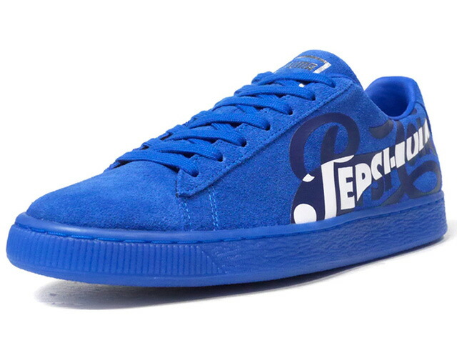 "Puma SUEDE CLASSIC X PEPSI ""PEPSI"" ""SUEDE 50th ANNIVERSARY"" ""KA LIMITED EDITION""  BLU/NVY/WHT (366332-01)"