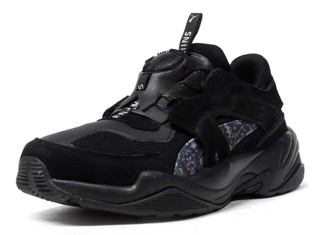 """Puma DISC THUNDER """"LES BENJAMINS"""" """"LIMITED EDITION for CREAM""""  BLK/GRY (368543-01)"""