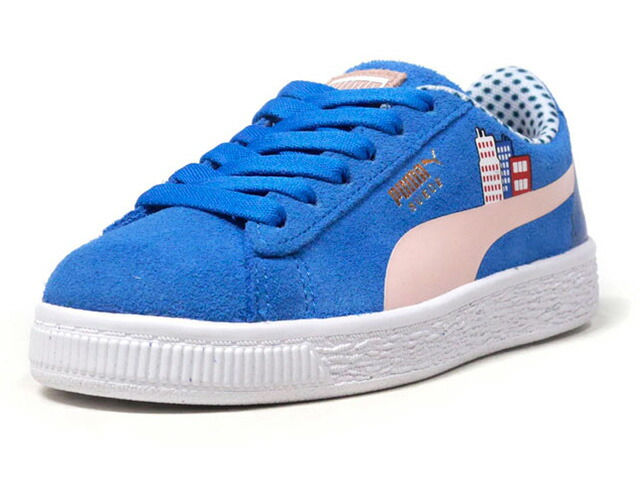 "Puma SESAME STR 50 SUEDE PS ""COOKIE MONSTER/SESAME STREET"" ""LIMITED EDITION for PRIME""  BLU/WHT (368924-01)"