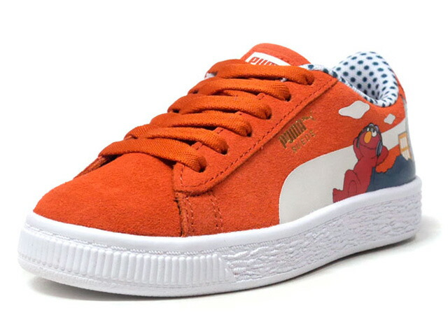"Puma SESAME STR 50 SUEDE PS ""ELMO/SESAME STREET"" ""LIMITED EDITION for PRIME""  RED/WHT (368924-02)"