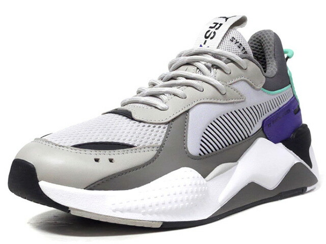 "Puma RS-X TRACKS ""LIMITED EDITION for LIFESTYLE""  L.GRY/GRY/E.GRN/PPL/BLK/WHT (369332-01)"