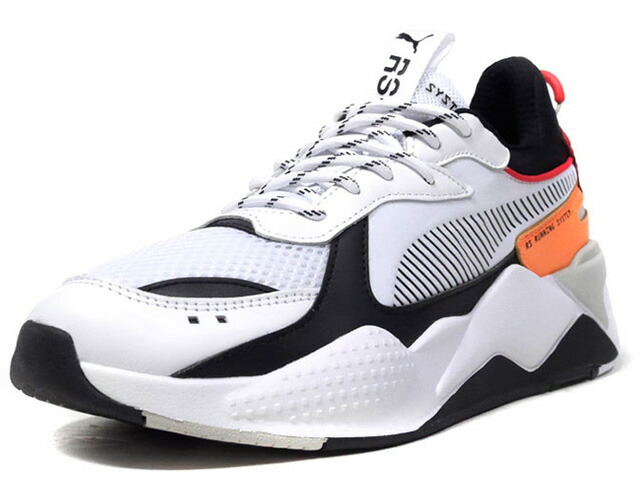 "Puma RS-X TRACKS ""LIMITED EDITION for LIFESTYLE""  WHT/BLK/RED/ORG/L.GRY (369332-02)"