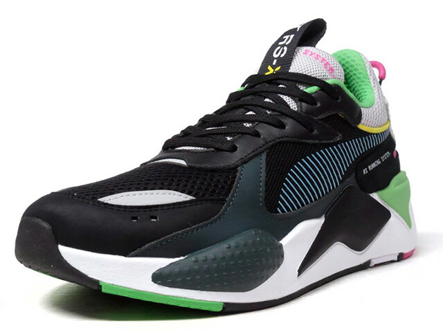 """Puma RS-X TOYS """"LIMITED EDITION for LIFESTYLE""""  BLK/GRY/D.GRN/GRN/SAX/PNK/YEL/WHT (369449-01)"""