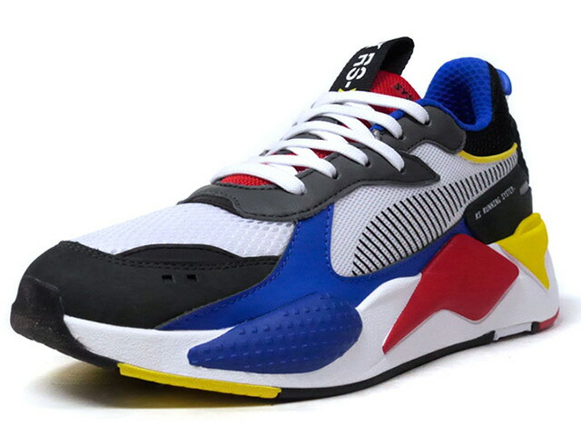 """Puma RS-X TOYS """"LIMITED EDITION for LIFESTYLE""""  WHT/BLK/C.GRY/BLU/RED/YEL (369449-02)"""