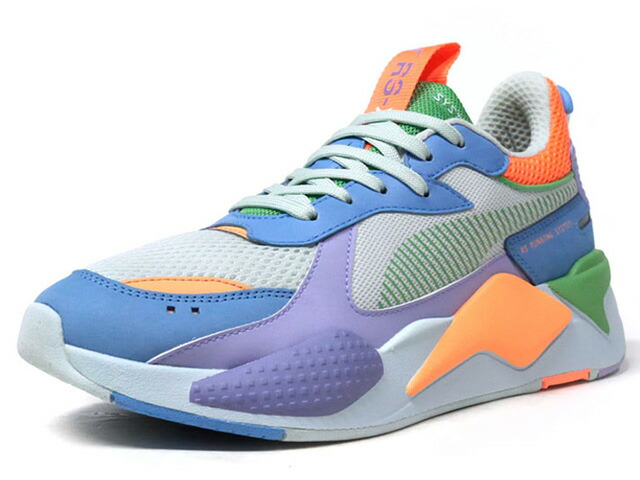 """Puma RS-X TOYS """"LIMITED EDITION for LIFESTYLE""""  M.GRN/SAX/PPL/ORG/GRN (369449-08)"""