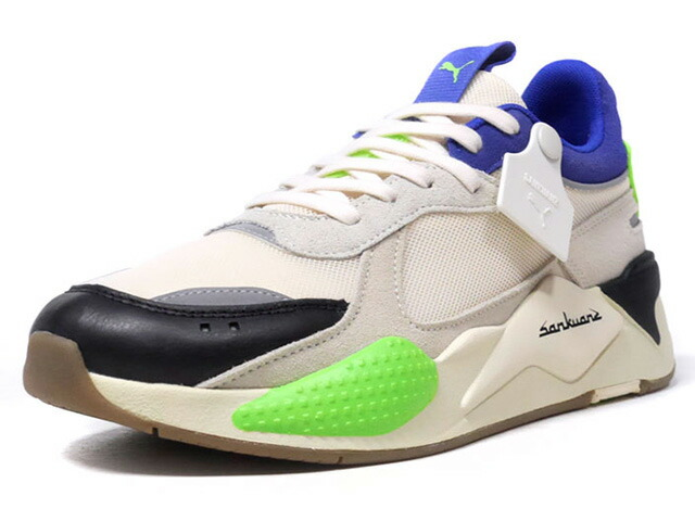 "Puma RS-X ""SANKUANZ"" ""LIMITED EDITION for LIFESTYLE""  BGE/BLK/L.GRN/NVY/SLV (369610-01)"