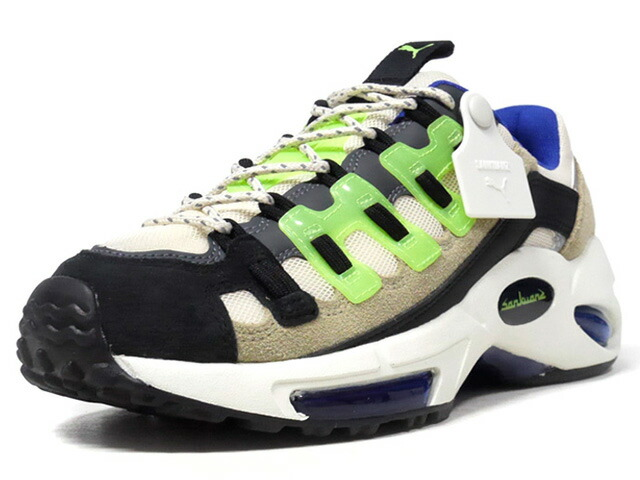 "Puma CELL ENDURA ""SANKUANZ"" ""LIMITED EDITION for LIFESTYLE""  BGE/BLK/L.GRN/NVY/O.WHT (369611-01)"