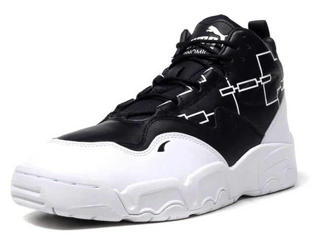 "Puma SOURCE MID BRACKET ""KA LIMITED EDITION""  BLK/WHT (370223-01)"
