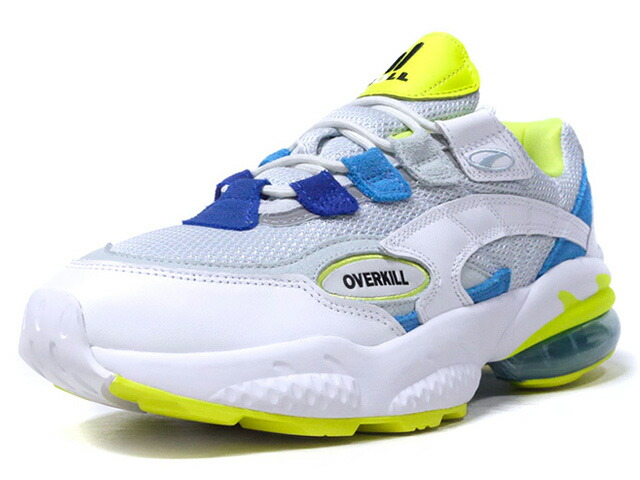"Puma CELL VENOM ""RADIANT VENOM"" ""OVERKILL"" ""LIMITED EDITION for CREAM""  WHT/M.GRN/SAX/BLU/N.YEL (370332-01)"