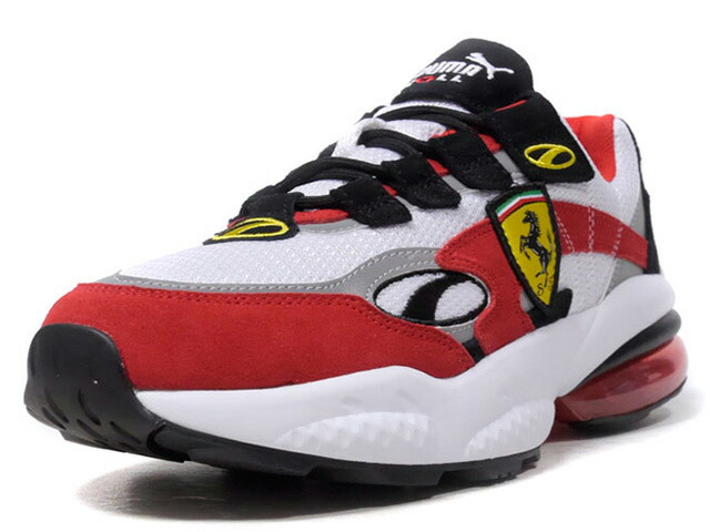 "Puma SF CELL VENOM ""SCUDERIA FERRARI"" ""LIMITED EDITION for CREAM""  WHT/RED/BLK/YEL/SLV (370338-01)"