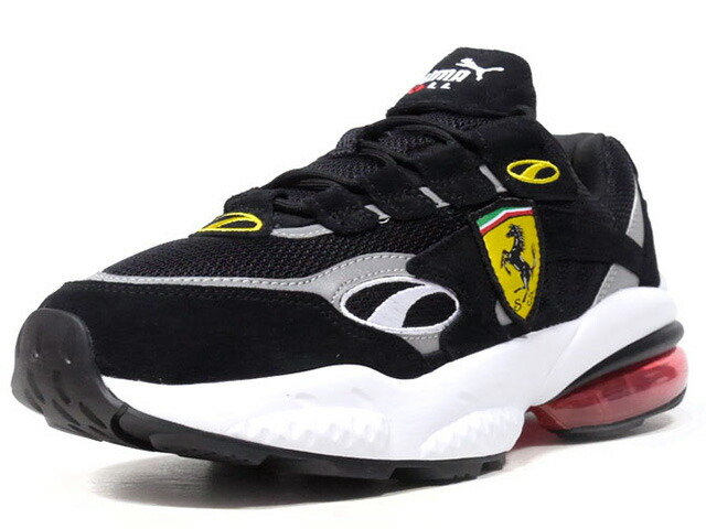 "Puma SF CELL VENOM ""SCUDERIA FERRARI"" ""LIMITED EDITION for CREAM""  BLK/SLV/YEL/RED/WHT (370338-02)"