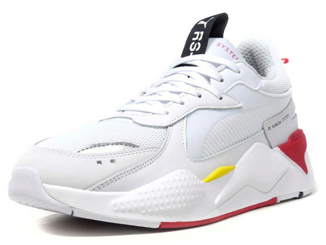 "Puma SF RS-X TROPHY ""SCUDERIA FERRARI"" ""LIMITED EDITION for CREAM""  WHT/RED/YEL/BLK/SLV (370581-01)"