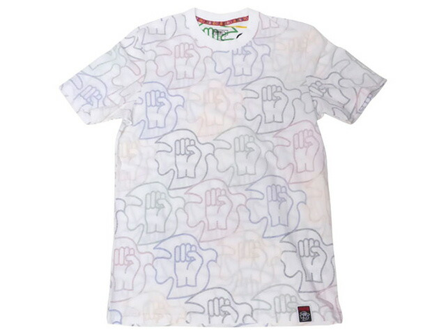 "Puma PWR THRU PEACE AOP TEE ""POWER THROUGH PEACE PACK"" ""SUEDE 50th ANNIVERSARY"" ""KA LIMITED EDITION""  WHT/MULTI (578454-01)"