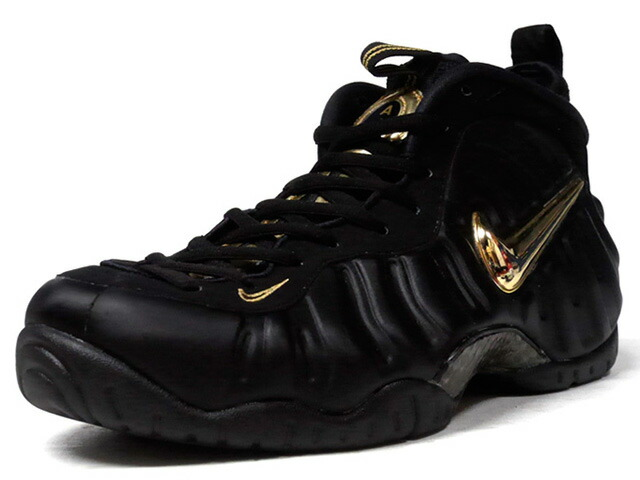 "NIKE AIR FOAMPOSITE PRO ""LIMITED EDITION for NSW""  BLK/GLD (624041-009)"