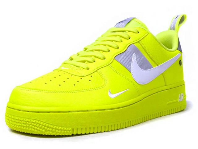 "NIKE AIR FORCE 1 '07 LV8 UTILITY ""VOLT"" ""LIMITED EDITION for NSW""  N.YEL/WHT/GRY (AJ7747-700)"