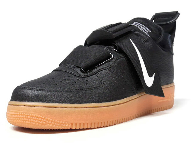 "NIKE AIR FORCE 1 UTIRITY ""LIMITED EDITION for NSW""  BLK/GUM (AO1531-002)"