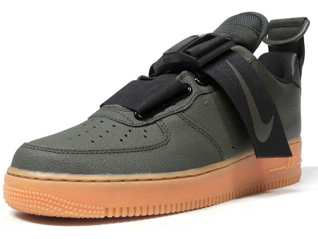 "NIKE AIR FORCE 1 UTIRITY ""LIMITED EDITION for NSW""  OLV/BLK/GUM (AO1531-300)"