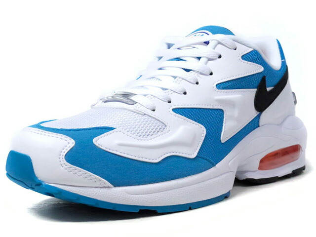"""NIKE AIR MAX 2 LIGHT """"LIMITED EDITION for NSW""""  WHT/SAX/BLK/ORG (AO1741-100)"""