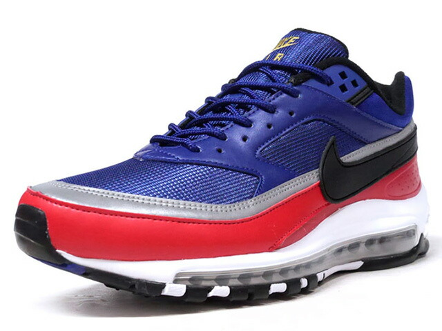"NIKE AIR MAX 97/BW ""LIMITED EDITION for NONFUTURE"" BLU/SLV/BLK/RED/WHT  (AO2406-400)"
