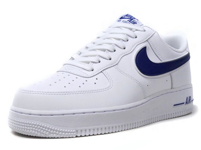 "NIKE AIR FORCE 1 '07 3 ""LIMITED EDITION for NSW""  WHT/NVY (AO2423-103)"