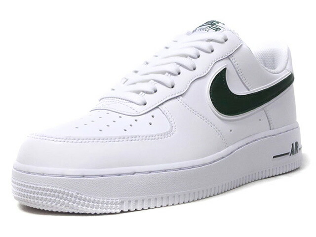 """NIKE AIR FORCE 1 '07 3 """"LIMITED EDITION for NSW""""  WHT/GRN (AO2423-104)"""