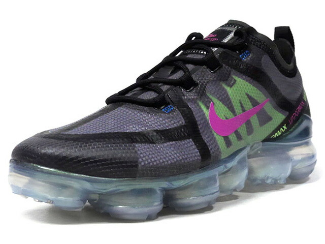 "NIKE AIR VAPORMAX 2019 PRE ""LIMITED EDITION for NSW""  BLK/L.GRN/PPL/BLU (AT6810-001)"