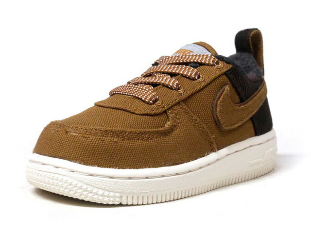 "NIKE FORCE 1 PRM WIP TD ""CARHARTT WIP"" ""LIMITED EDITION for NSW""  BRN/D.BRN/O.WHT (AV3527-200)"