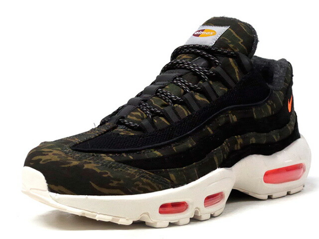 "NIKE AIR MAX 95 WIP ""CARHARTT WIP"" ""LIMITED EDITION for NSW""  CAMO/BLK/ORG/O.WHT (AV3866-001)"