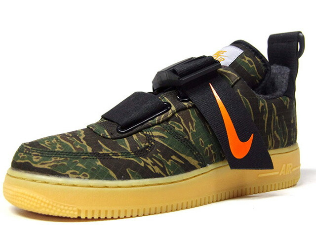 "NIKE AIR FORCE 1 UT LOW PRM WIP ""CARHARTT WIP"" ""LIMITED EDITION for NSW""  CAMO/BLK/ORG/GUM (AV4112-300)"